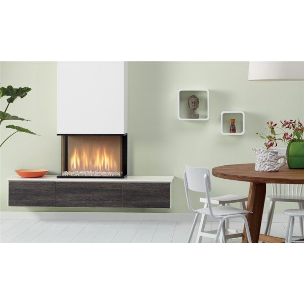 Global Fires Global 60 Triple met hangend meubel (showroommodel)