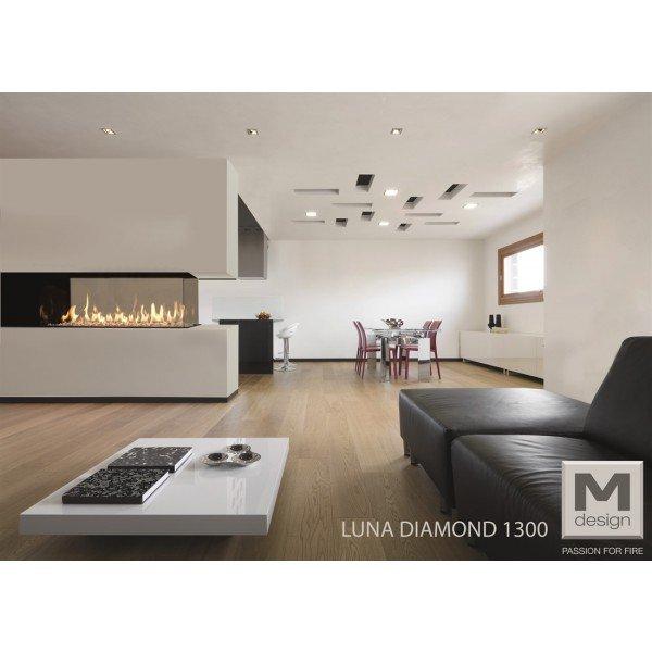 M-design Luna Diamond 1300RD gashaard