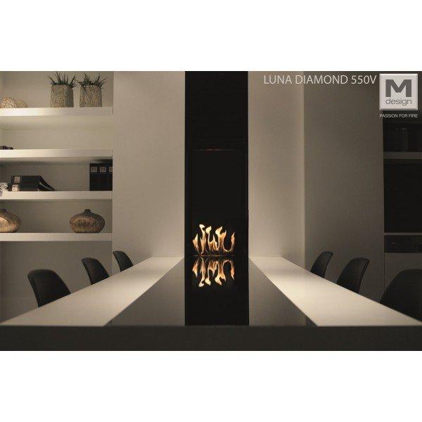 M-design Luna Diamond 550V gashaard