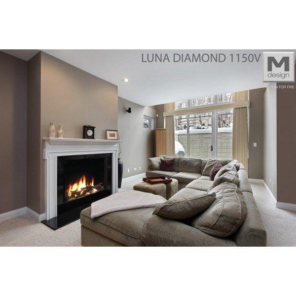 M-design Luna Diamond 1150V gashaard