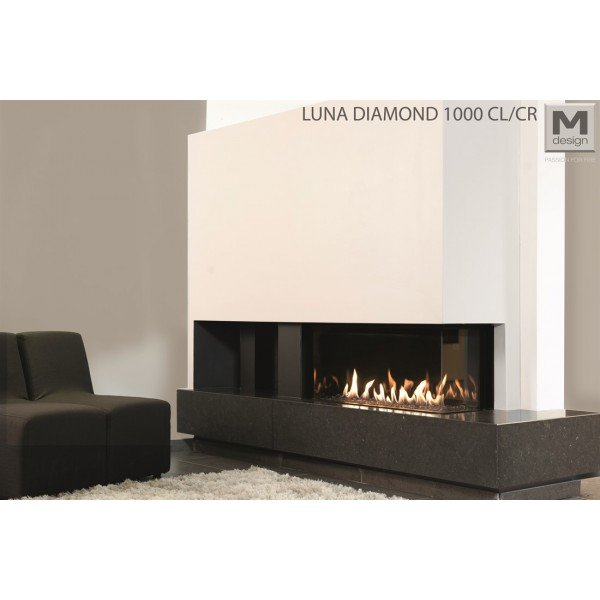 M-design Luna Diamond 1000 CL CR gashaard